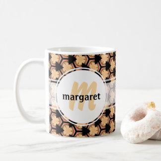 Warm and Welcoming Monogram Coffee Mug