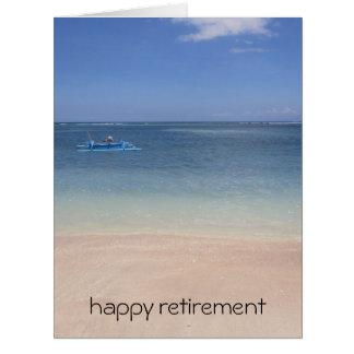 warm beach waters big card