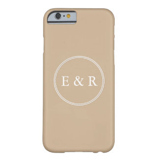 Warm Brown Sand - Spring 2018 London Fashion Trend Barely There iPhone 6 Case