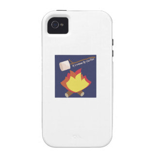 Warm By The Fire Vibe iPhone 4 Cover