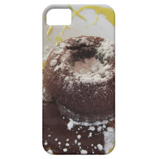 Warm chocolate fondant lava cake dessert barely there iPhone 5 case