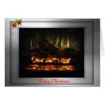 Warm Christmas Greeting Card