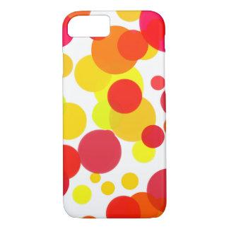 Warm Circles iPhone 7 Case