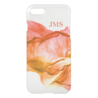 Warm Colors Watercolor Personalized iPhone 7 Case