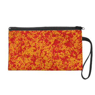 Warm Colors Wristlet