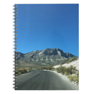 Warm desert days spiral notebook