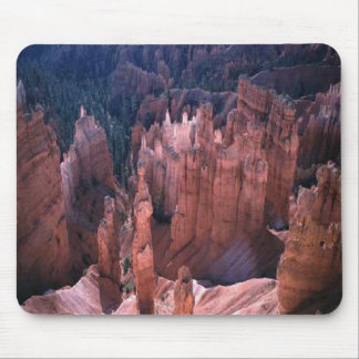 Warm desert mountain mouse pad
