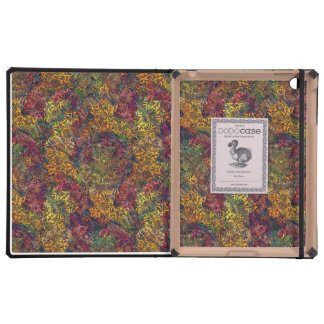 Warm Fall Kaleidoscope iPad Cases