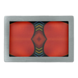 Warm Fall Tones Artistic Contemporary  Abstract Belt Buckles