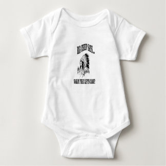 warm fire lifts camp baby bodysuit