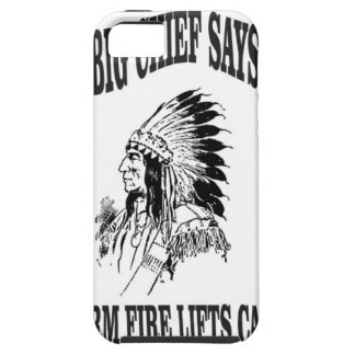 warm fire lifts camp iPhone 5 case