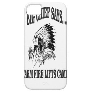 warm fire lifts camp iPhone 5 covers