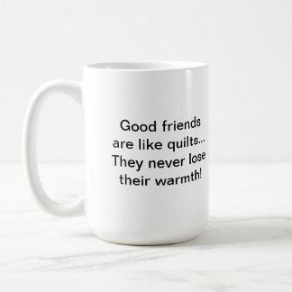 Warm Friends Quilter's Mug