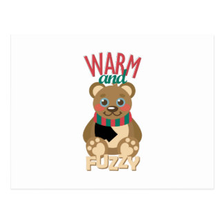 Warm & Fuzzy Postcard