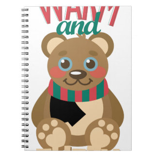 Warm & Fuzzy Spiral Notebooks