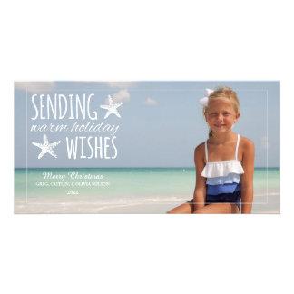Warm Holiday Wishes 2014 Holiday Photo Greeting Photo Greeting Card
