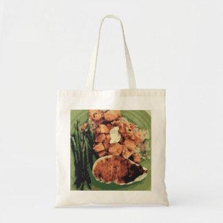 Warm Homemade Potatoes and Green Beans Bag