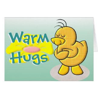 Warm Hugs Card