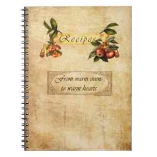 warm kitchens to warm hearts notebooks