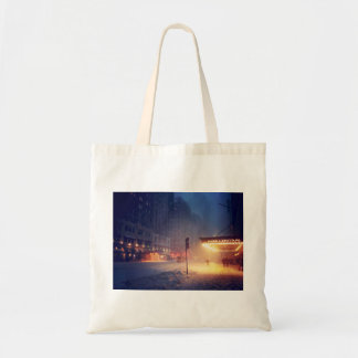 Warm Lights On A Cold Night Tote Bag