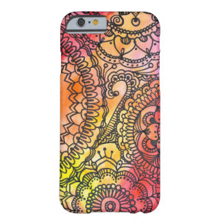 Warm Mandala Collage By Megaflora Barely There iPhone 6 Case