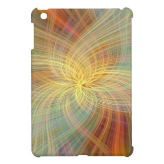 Warm multicolored abstract cover for the iPad mini