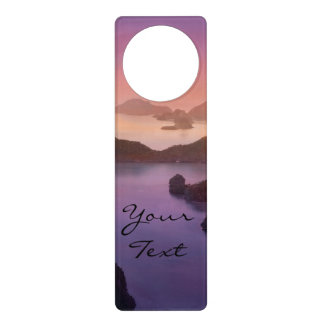 Warm Ocean Sunset Door Hanger