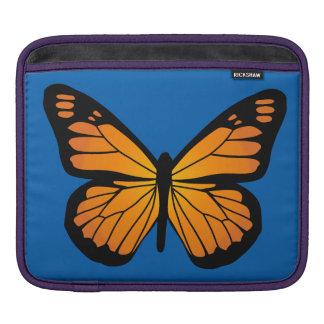 Warm Orange Glow Butterfly Sleeve For iPads