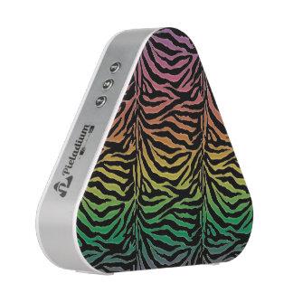 Warm Rainbow Tiger Animal Print