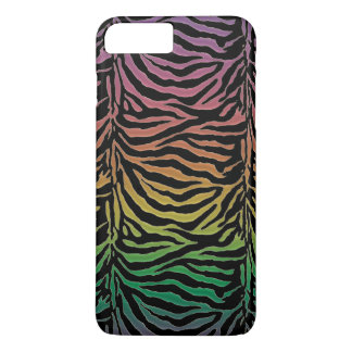 Warm Rainbow Tiger Animal Print iPhone 7 Plus Case