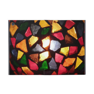 Warm Shimmer Light Through Colorful Mosaic Glass iPad Mini Cases
