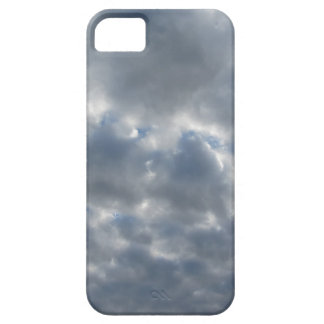 Warm sky with giants cumulonimbus clouds at sunset iPhone 5 case