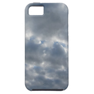 Warm sky with giants cumulonimbus clouds at sunset iPhone 5 cover