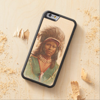 Warm Springs Chief: Agate Arrowpoint Carved Maple iPhone 6 Bumper Case