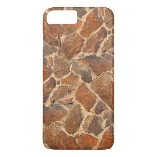 Warm Stonewall Pattern Golden iPhone 7 Plus Case