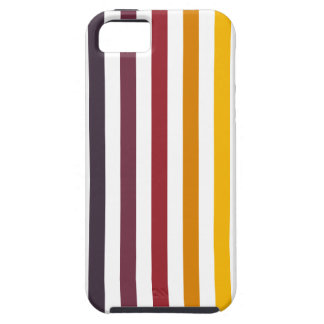 Warm Stripes iPhone 5 Case