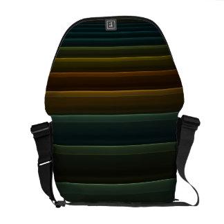 Warm Stripes Rickshaw Messenger Bag