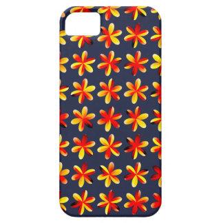 Warm Sunset Flowers iPhone 5 Case