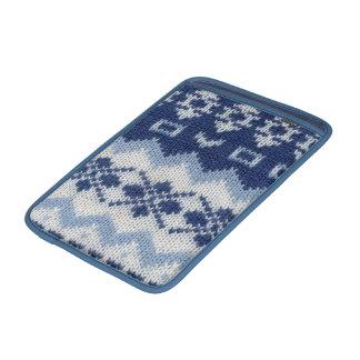 Warm sweater-Blue MacBook Air Sleeve