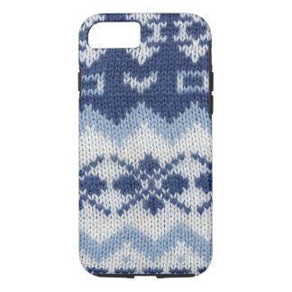 Warm sweater case - Blue