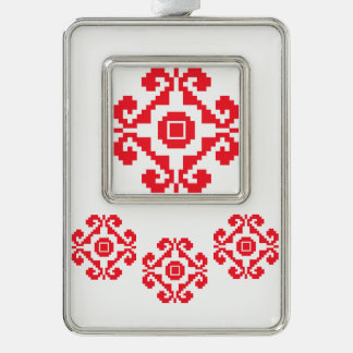Warm Sweet Collection Silver Plated Framed Ornament