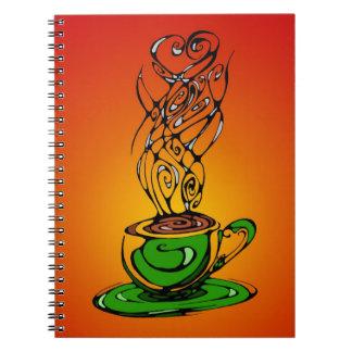 Warm Tea Journal Spiral Notebook
