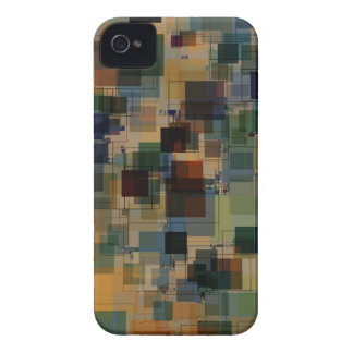 Warm Vintage Color Square Overlay Case-Mate iPhone 4 Case