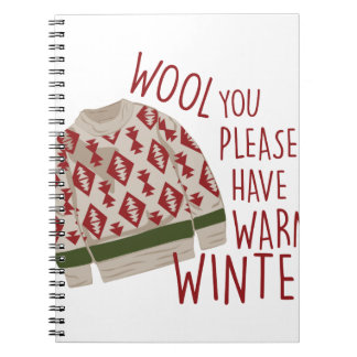 Warm Winter Notebooks