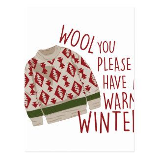 Warm Winter Postcard