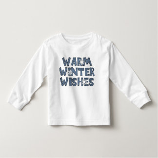 Warm Winter Wishes Holidays T-Shirt