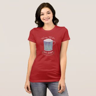 Warm Wishes This Season Peppermint Hot Cocoa Mug T-Shirt