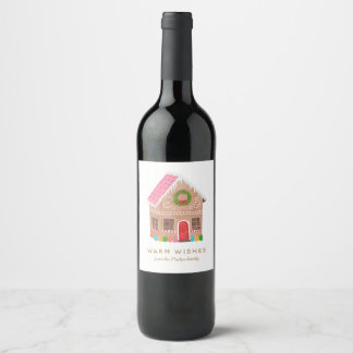 Warm Wishes Wine Label