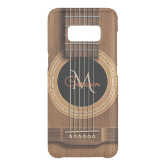 Warm Wood Acoustic Guitar Get Uncommon Samsung Galaxy S8 Case