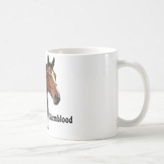 Warmblood horse coffee mug